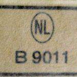 RDW goedkeuringsnummer B9011 voor de Zundapp 429