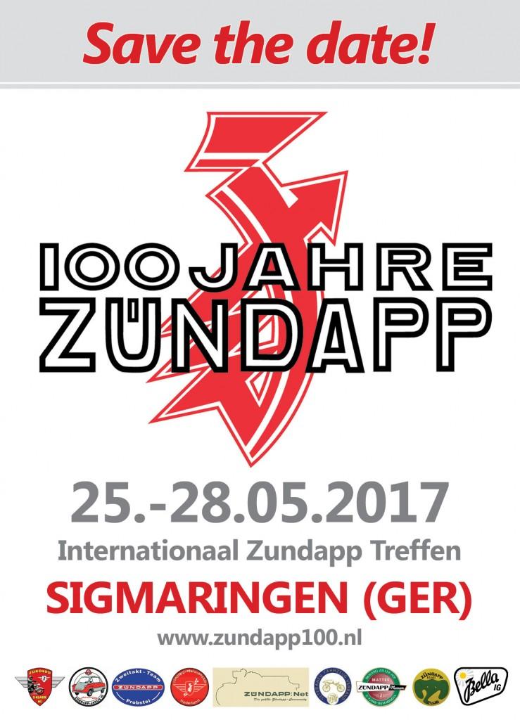 100 jaar Zundapp 1917-2017 Sigmaringen (D)