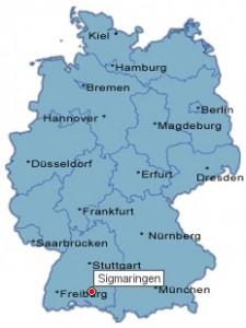 Sigmaringen_lokatie