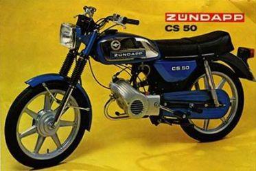 Zündapp 529-03 CS50  (1978-1983)