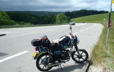 Zojuist de Zwitserse grens gepasseerd 2012