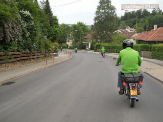 Op weg in Sigmaringen naar het museum