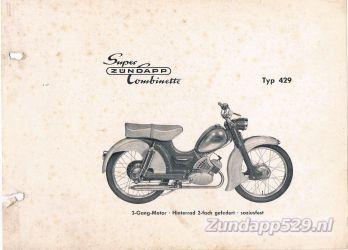 Ersatzteil-Katalog zundapp 429