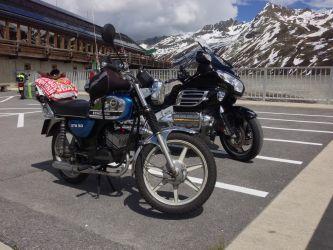 Ook een 50cc komt boven naast de 6-cilinder.